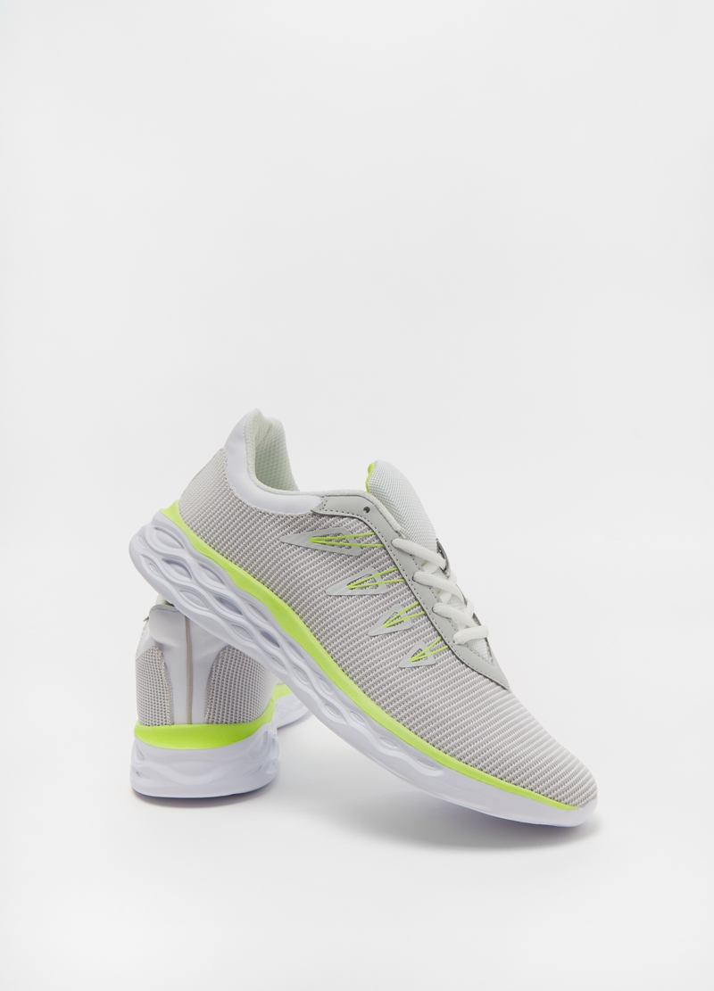 Sneakers con dettagli fluo image number null