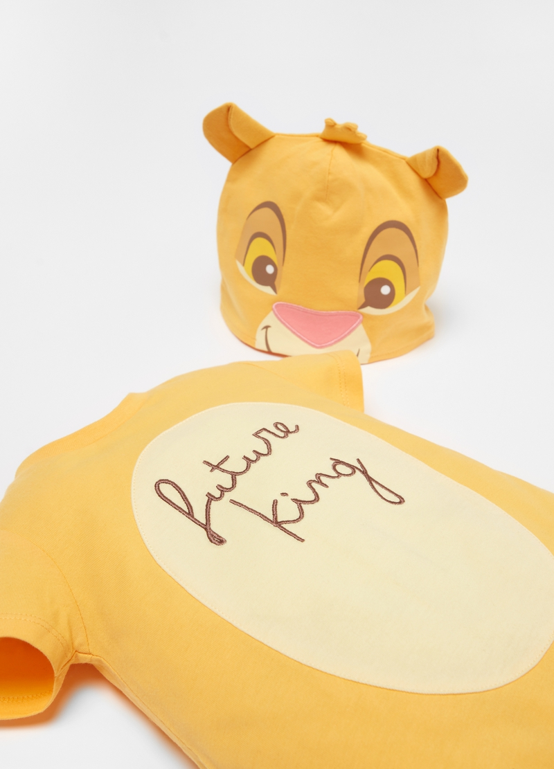 The Lion King hat and onesie set image number null