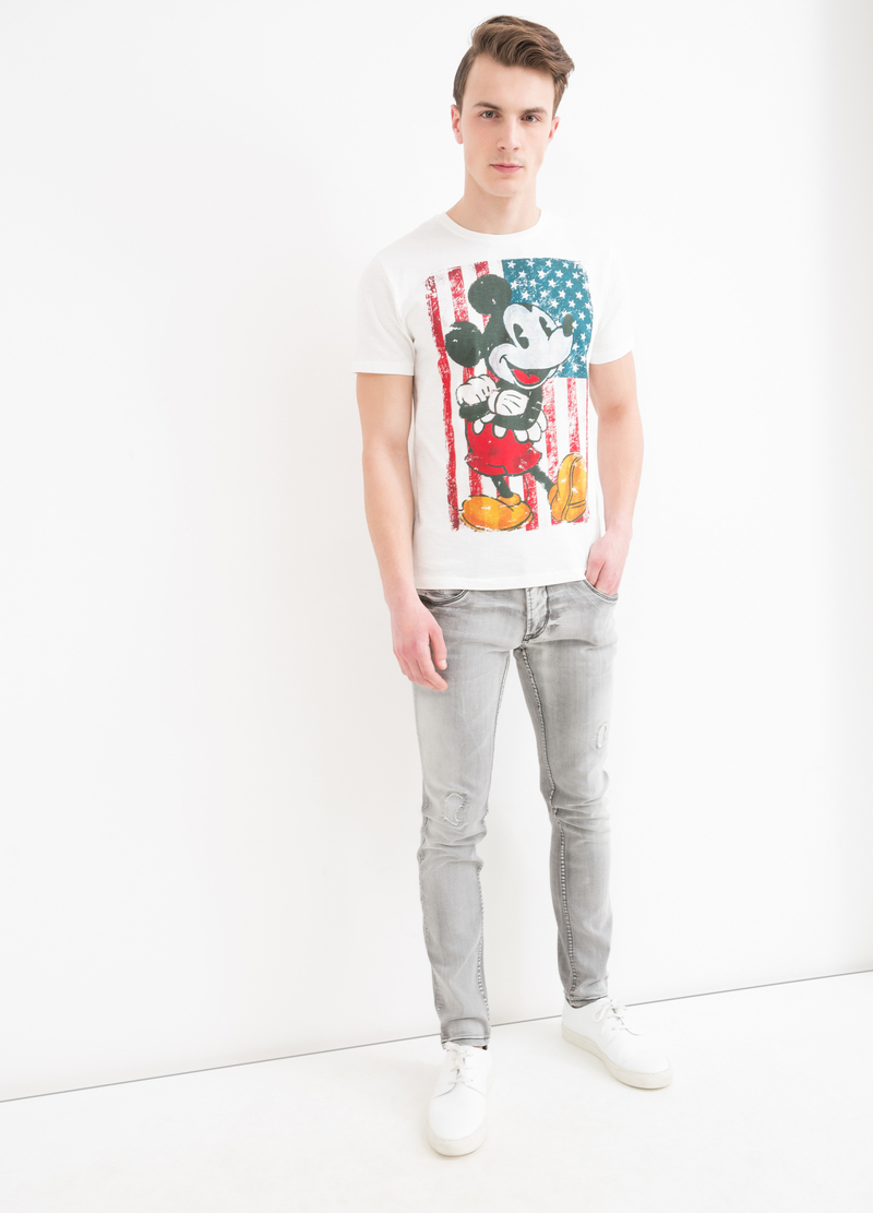 T-shirt cotone stampa Disney image number null