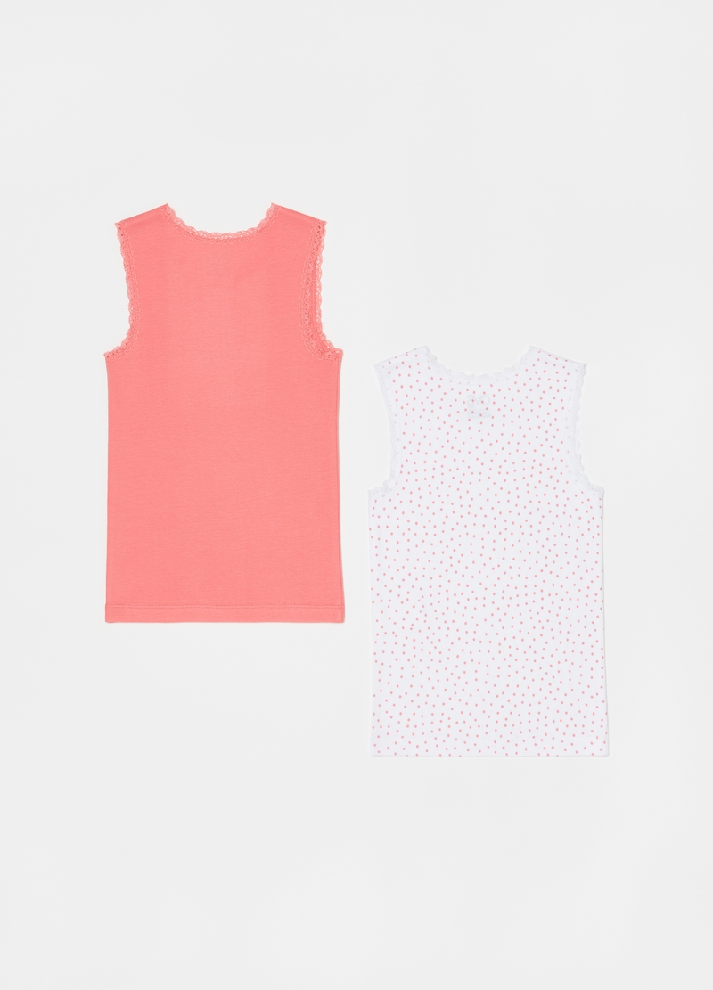 Two-pack vests with trim image number null