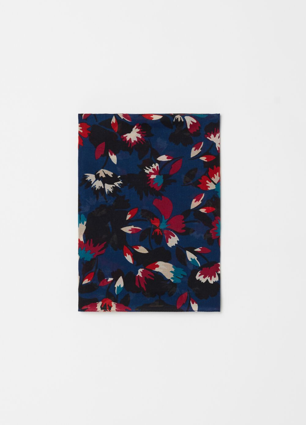 Floral patterned pashmina