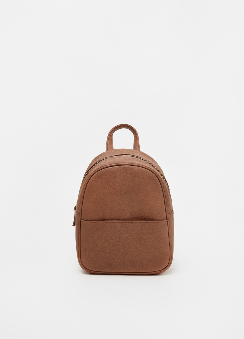 Oval backpack with pocket image number null