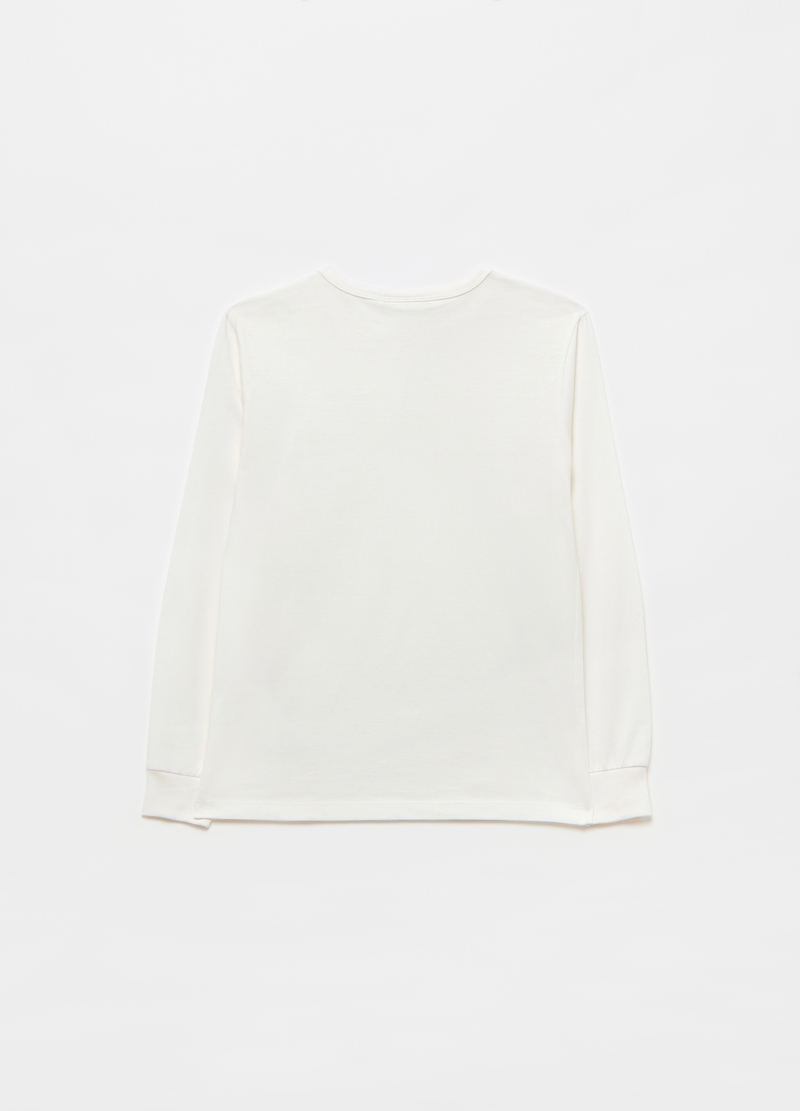 100% cotton T-shirt with pocket image number null