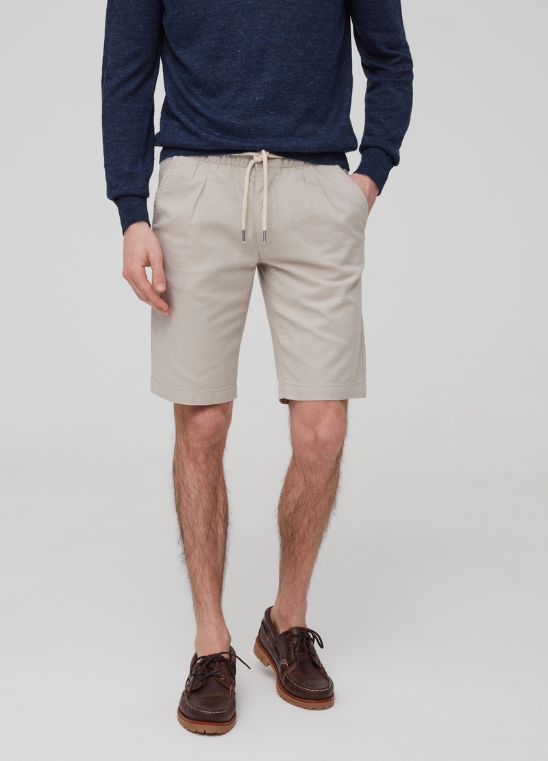 Bermuda chino regular fit coulisse image number null