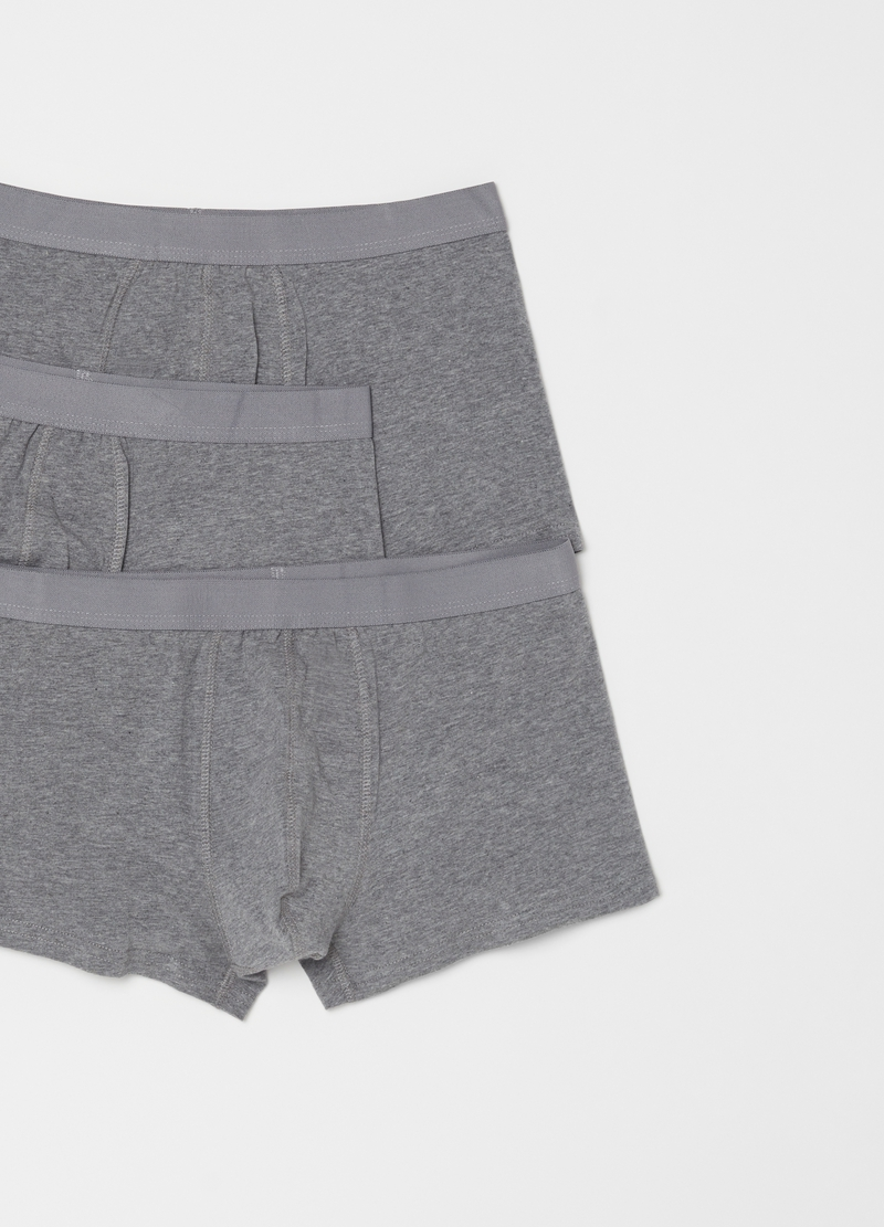 Three-pack stretch organic cotton boxer shorts image number null