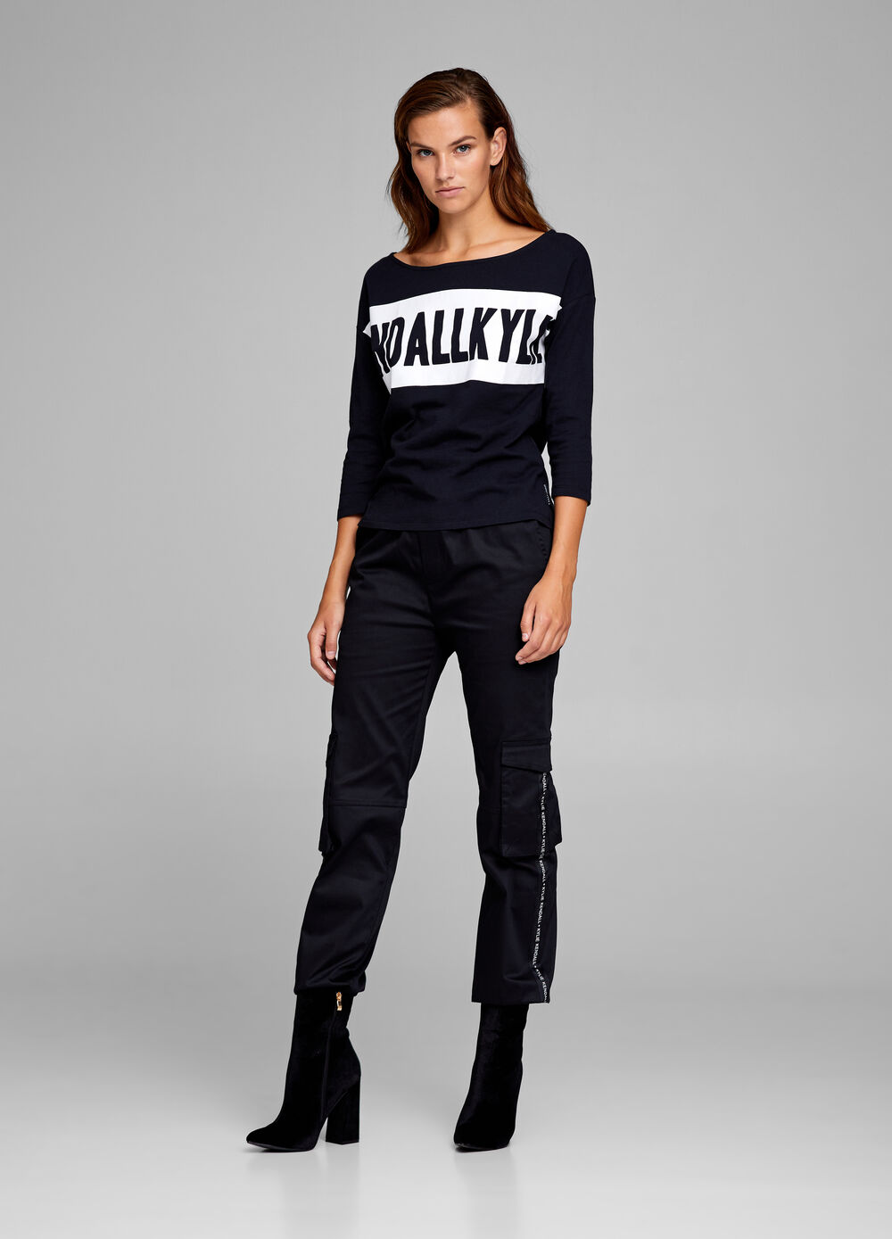 K+K for OVS trousers with pockets