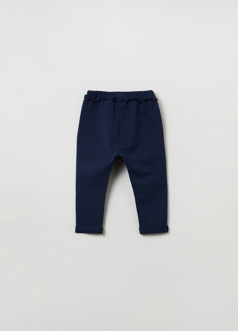 Joggers con bottoncini image number null