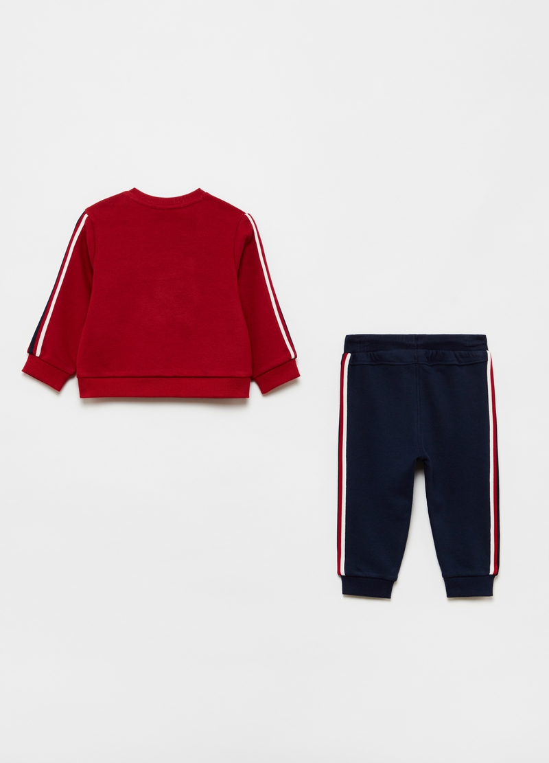 Marvel Baby Spider-Man jogging set in organic cotton image number null