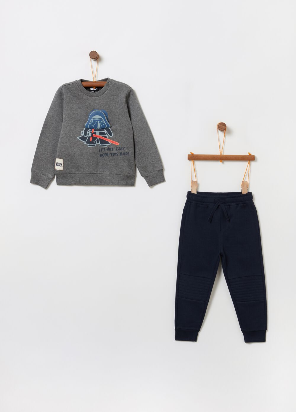 Jogging set with Star Wars print