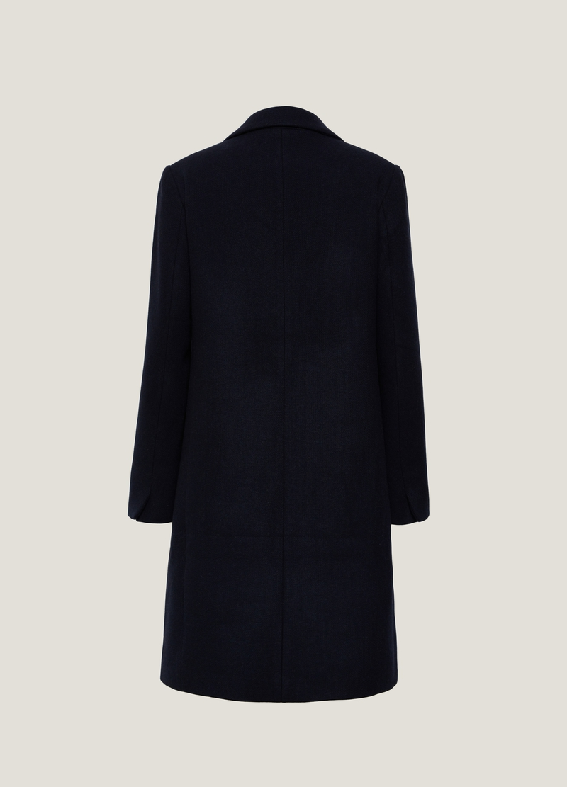 PIOMBO Cappotto lungo monopetto image number null