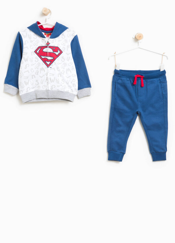 Cotton tracksuit with Superman pattern | OVS