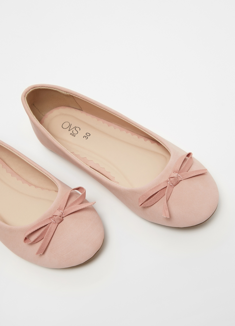 Ballerina flats with bow image number null