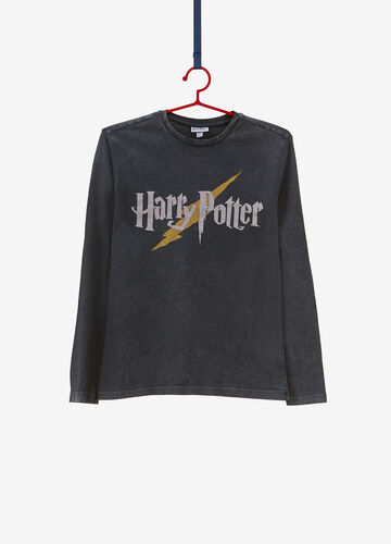 T-shirt puro cotone stampa Harry Potter