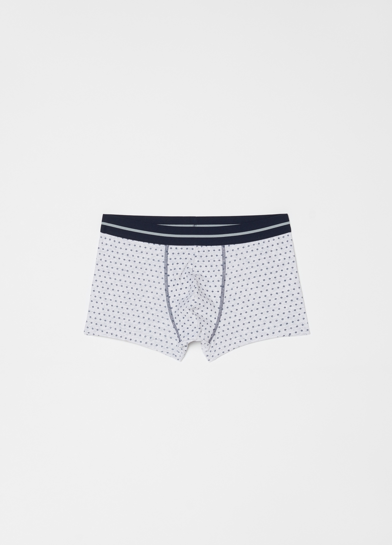 Three-pair pack boxers with all-over print image number null