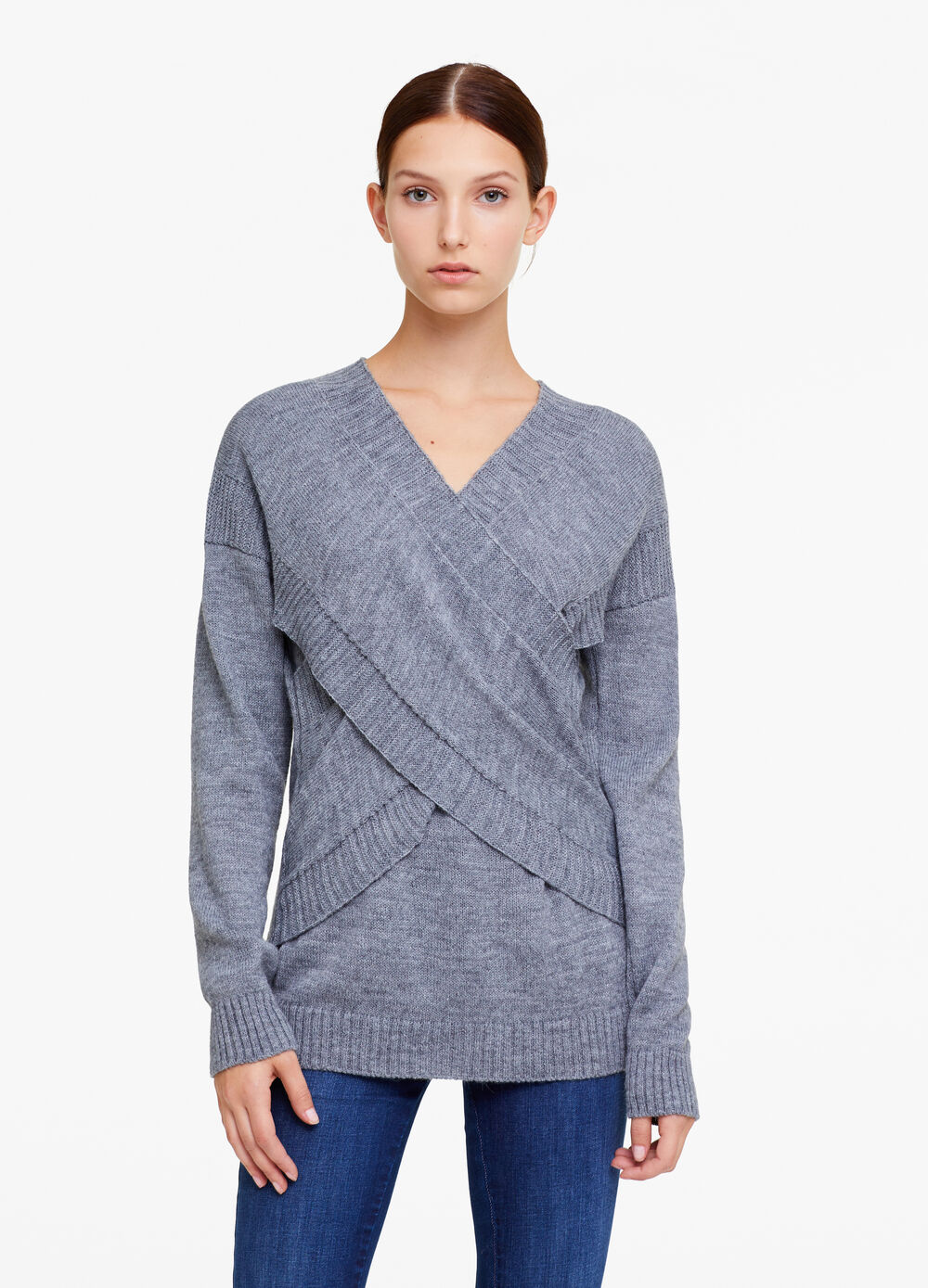 OVS Premium pullover with crossover