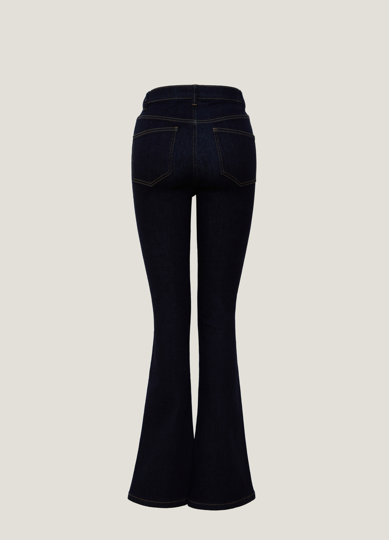 PIOMBO Jeans flare fit stretch image number null