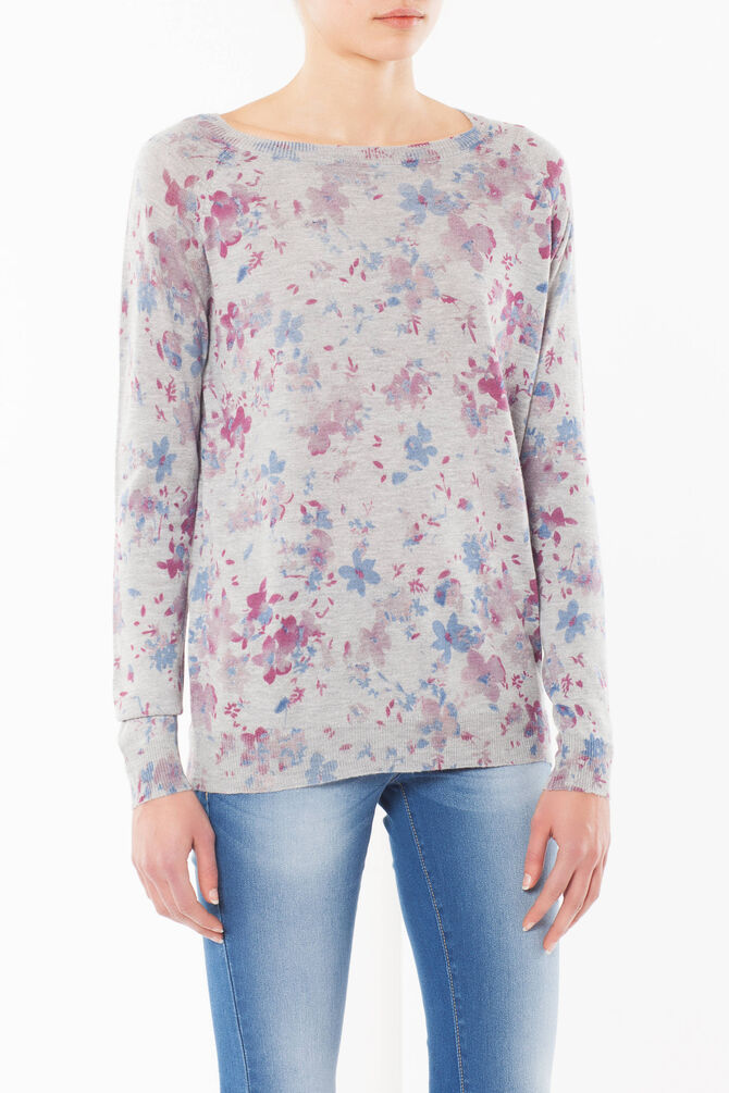 Pullover floreale