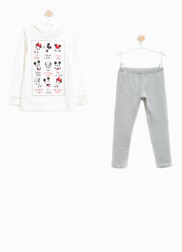 Cotton tracksuit with Mickey and Minnie Mouse | OVS