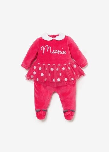 Minnie Mouse onesie in BCI cotton blend