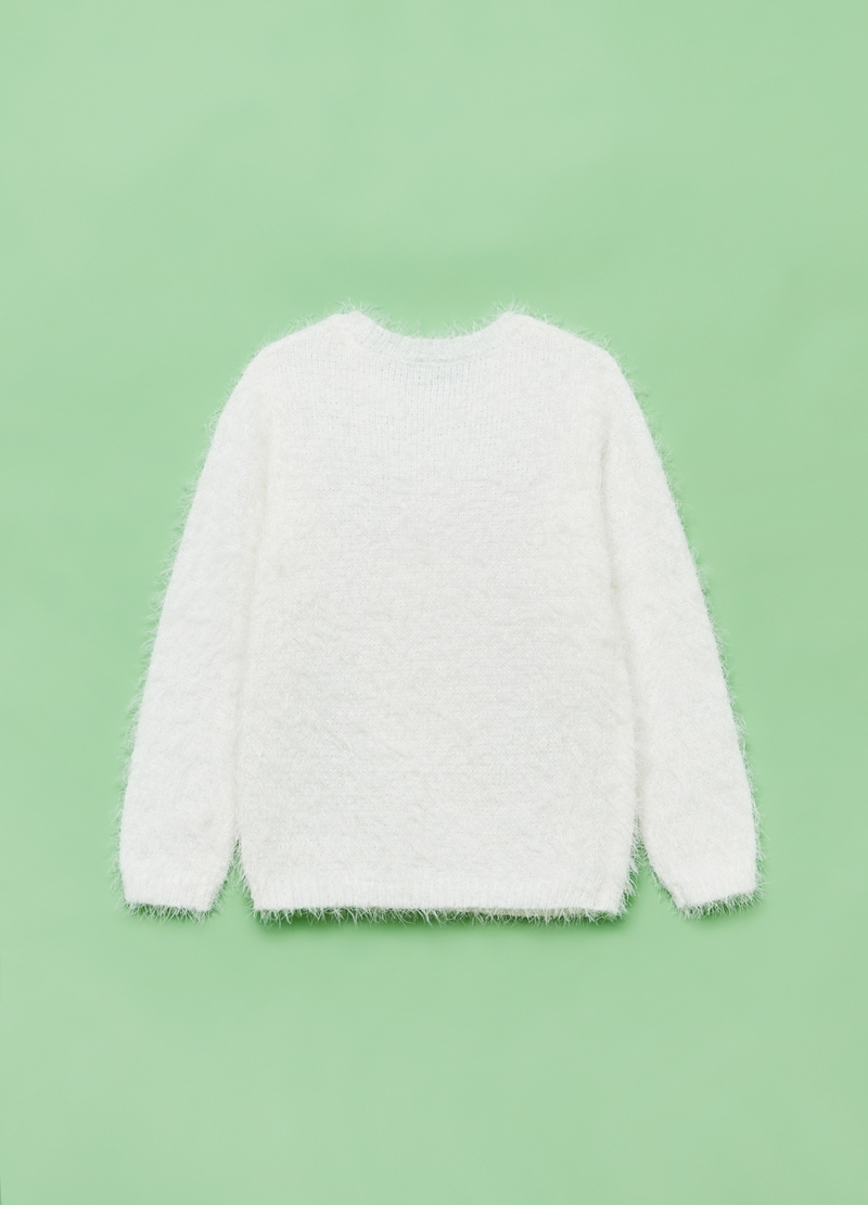 Christmas jumper pupazzo di neve e paillettes image number null