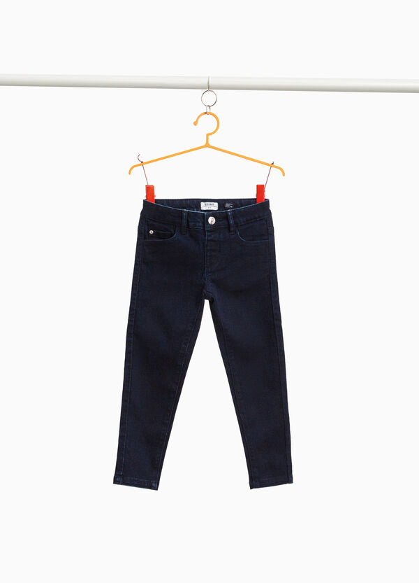 Jeans stretch tinta unita