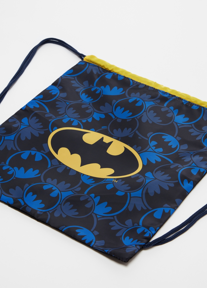 Drawstring backpack with Batman pattern image number null