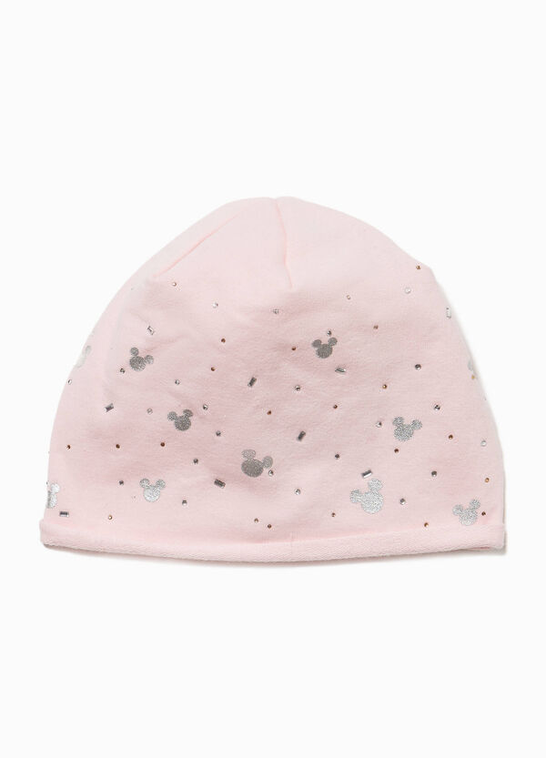 Mickey Mouse diamantés beanie cap