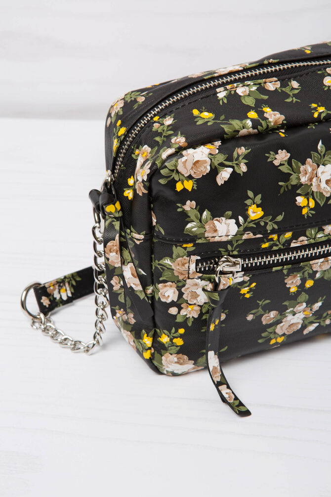 Mini bag tracolla fantasia floreale