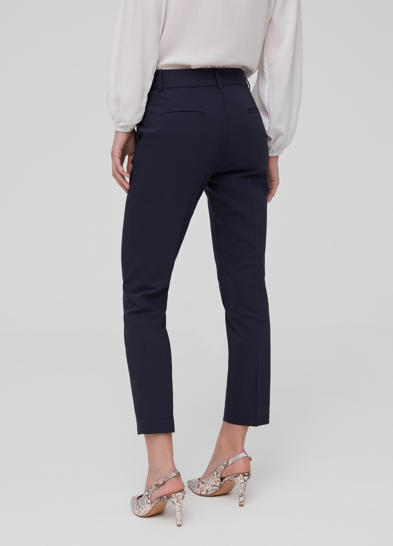 Pantaloni chino con tasche stretch image number null