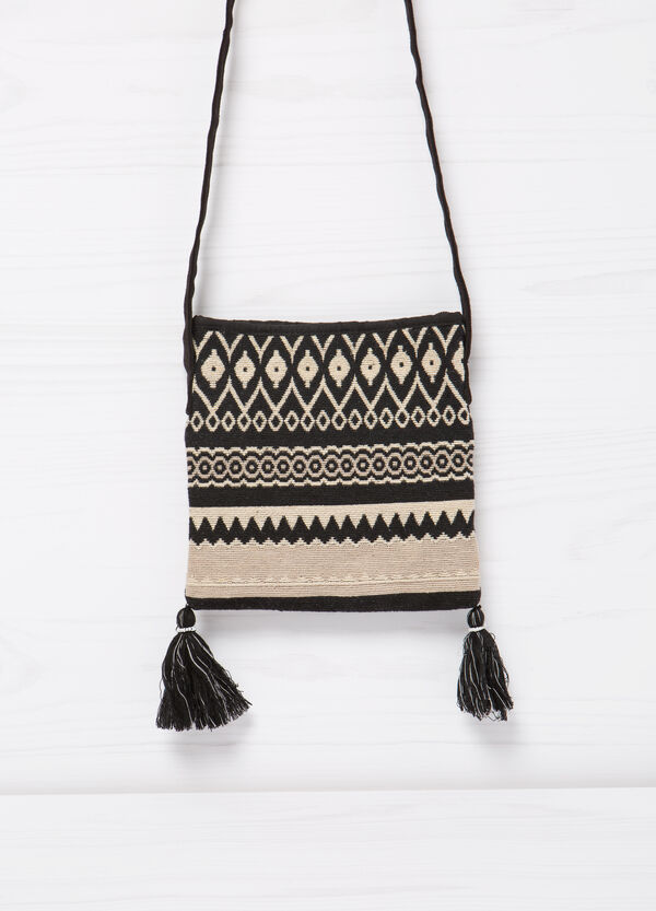 Shoulder bag with tassels | OVS
