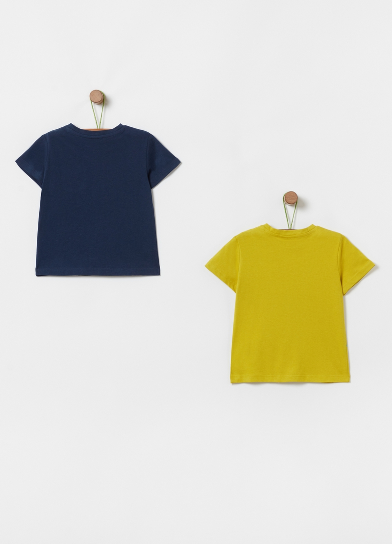 Two-pack 100% organic cotton T-shirts image number null