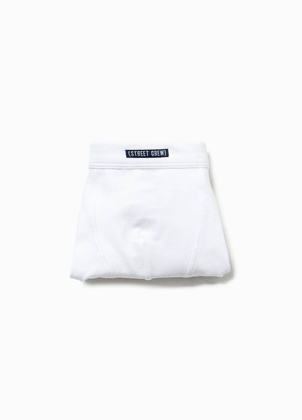 Solid colour organic cotton boxers | OVS