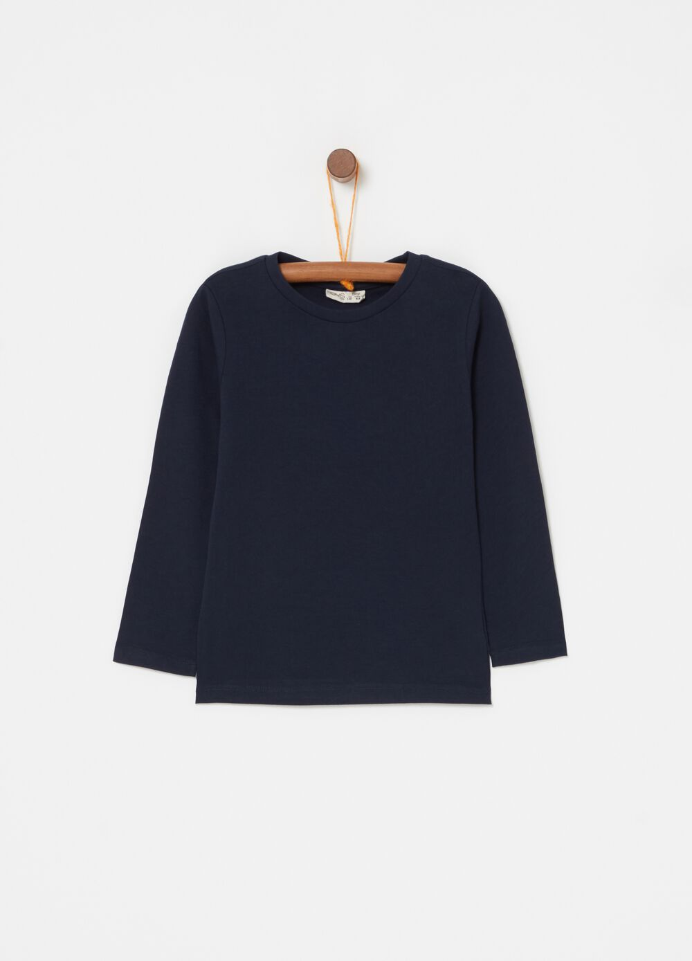 100% biocotton T-shirt with long sleeves