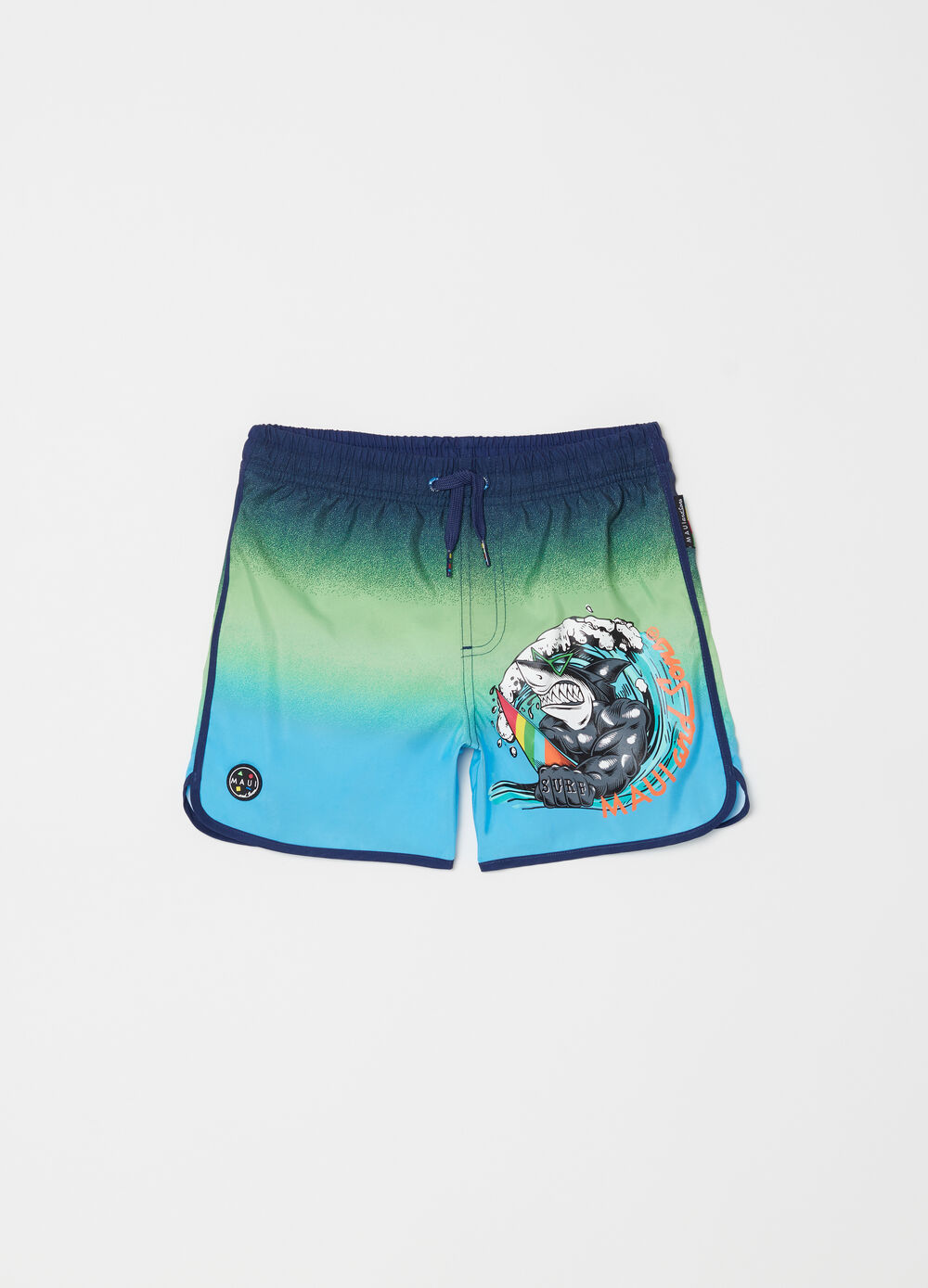 Swim boxer shorts with print by Maui and Sons