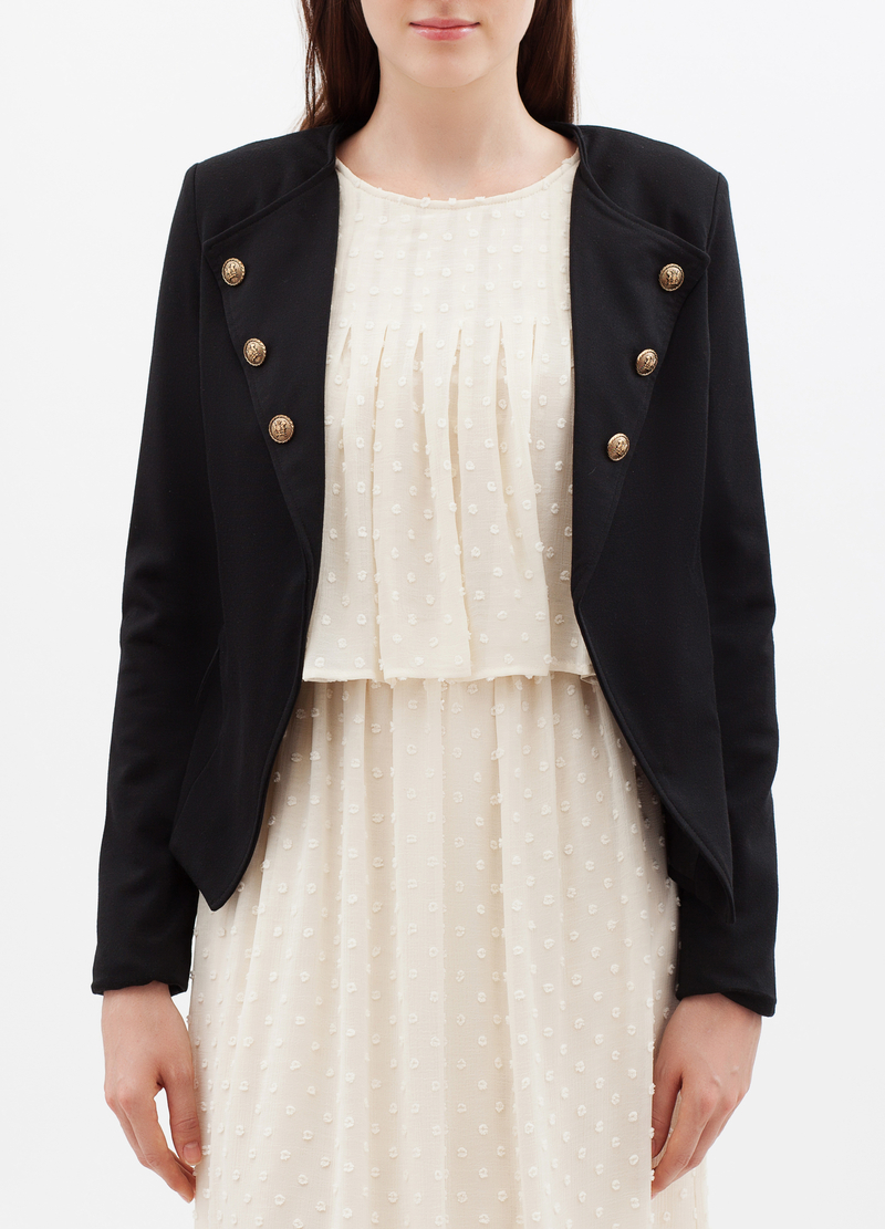 Open jacket with appliqués image number null