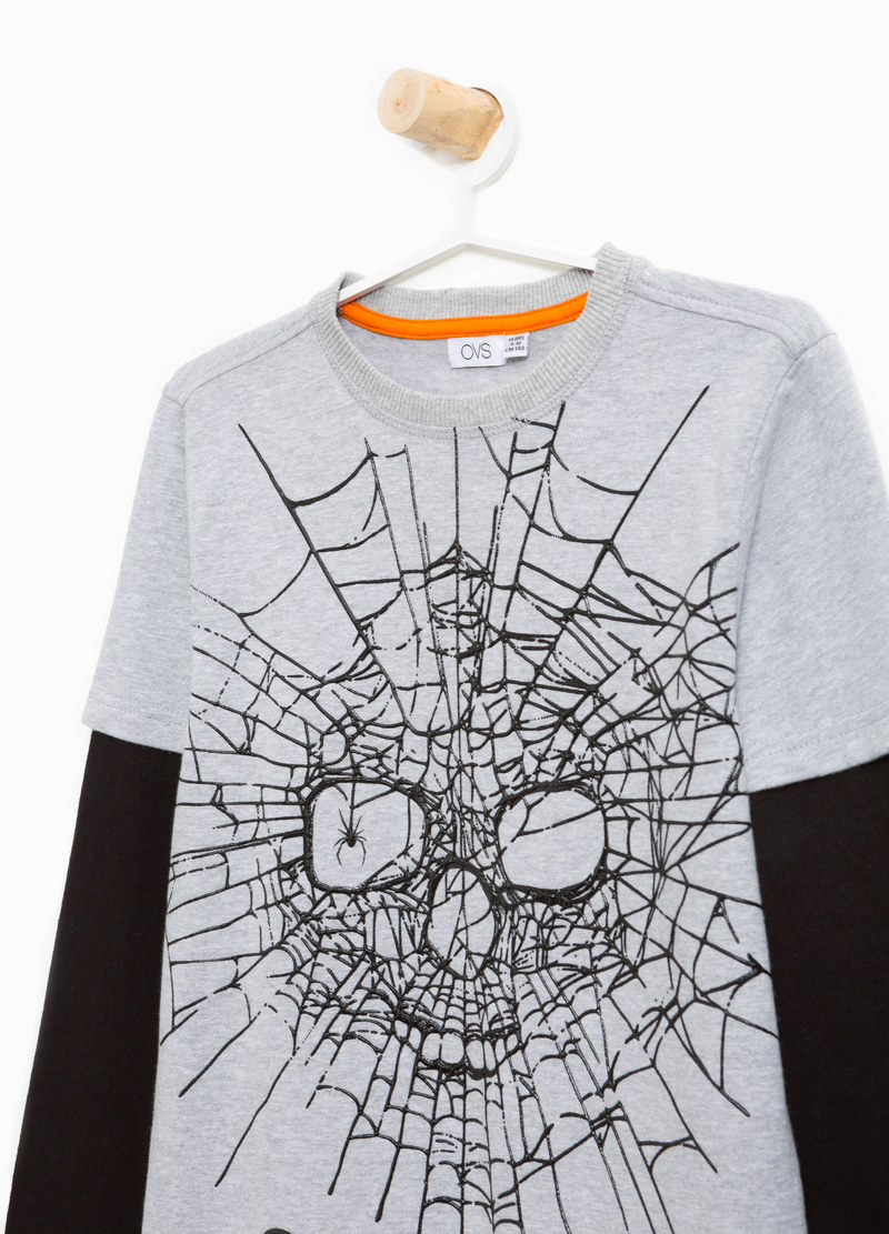 T-shirt cotone stampa halloween image number null