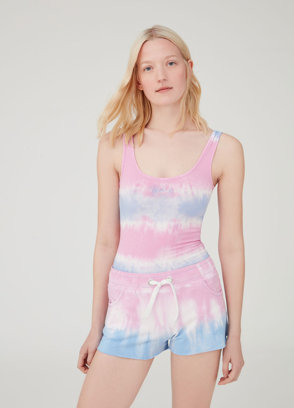 Multicoloured tank top by Maui and Sons