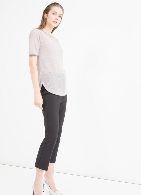 T-shirt inserti in lurex | OVS