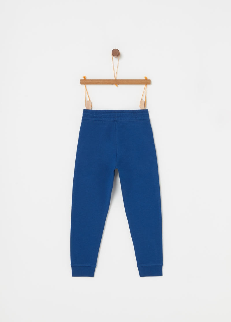 Pantaloni in French Terry biologico tasche image number null