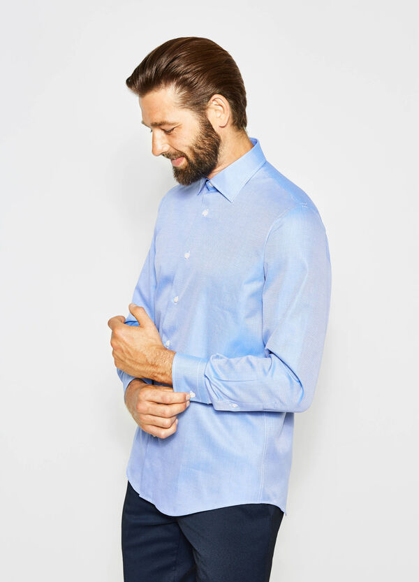 Regular-fit formal shirt with adjustable cuffs | OVS