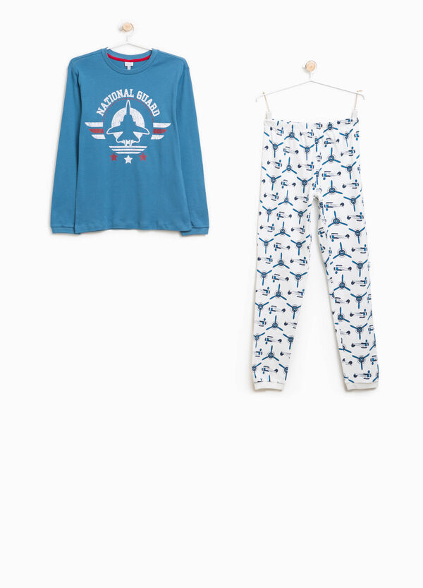 100% organic cotton pyjamas with pattern | OVS