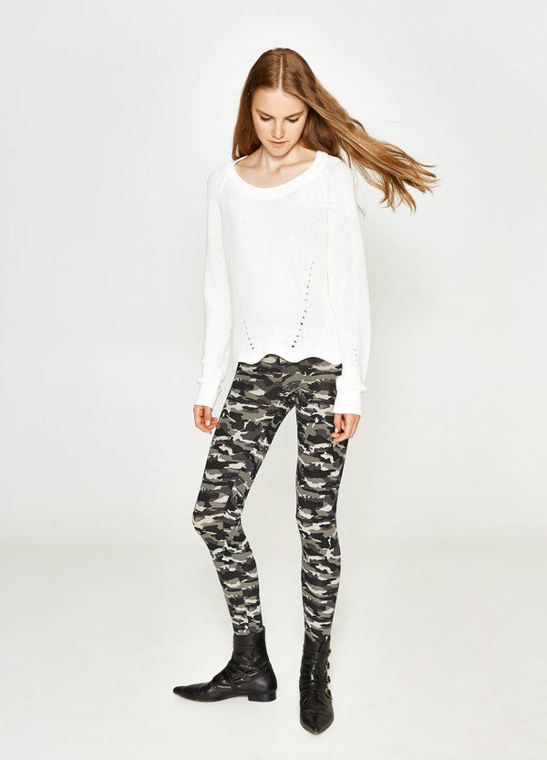 Leggings stretch camouflage | OVS