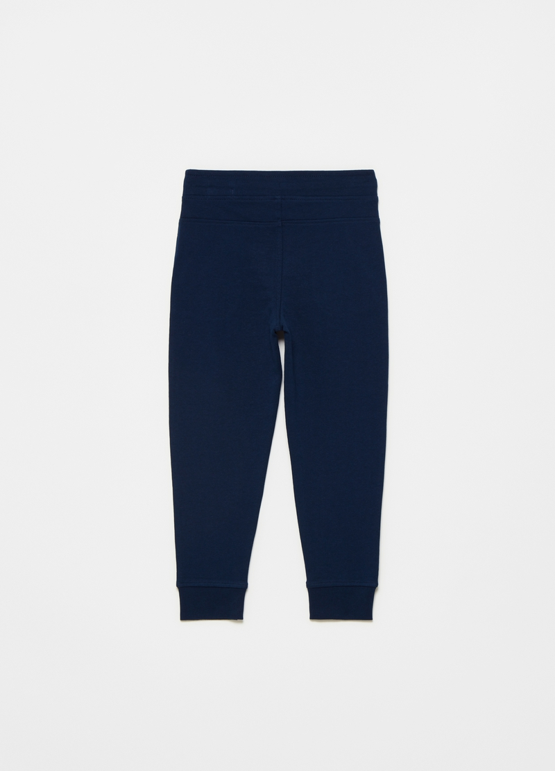 Joggers in French Terry tinta unita image number null