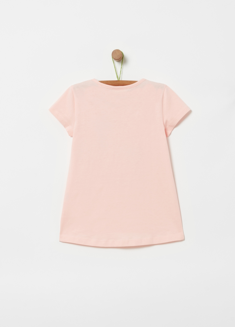 T-shirt puro cotone stampa image number null