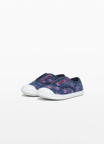 Slip-on a costine fantasia a stelle