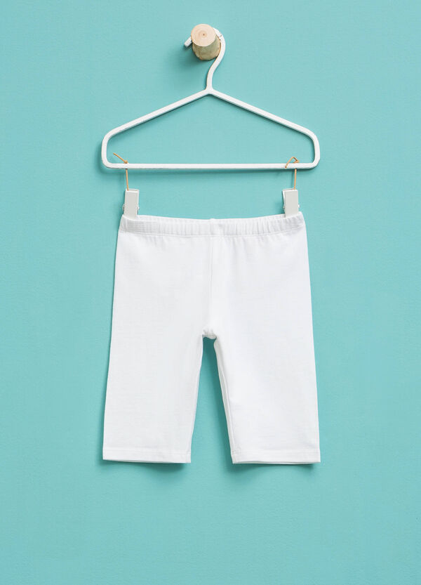 Stretch cotton Bermuda shorts | OVS