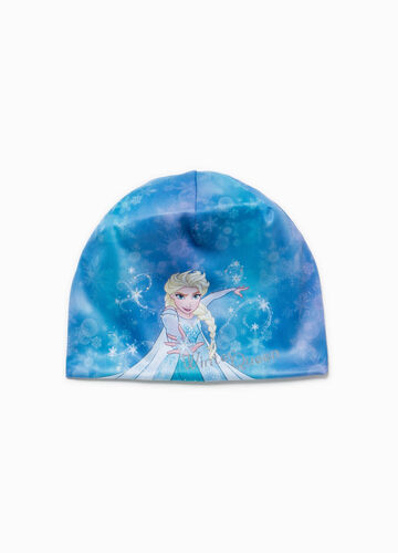 Frozen cotton beanie cap