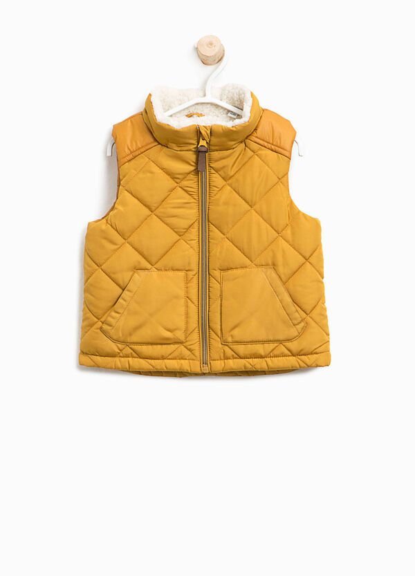 Quilted and padded gilet | OVS