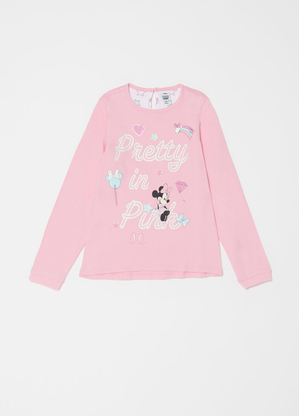 Pigiama in jersey cotone Disney Minnie
