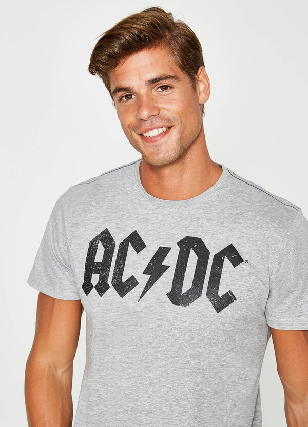 T-shirt in cotone stampa AC/DC | OVS